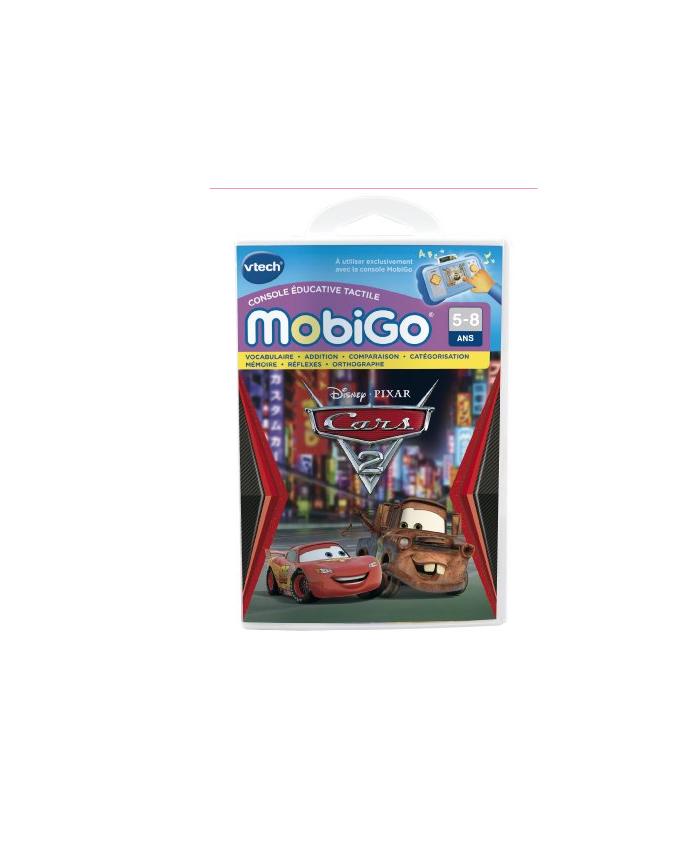 VTECH MOBIGO CARS 2 JEUX CONSOLE TACTILE  JEU EDUCATIF GAME JOUET NOEL 3417762519058 COMASOUND KARTEL CSK ONLINE