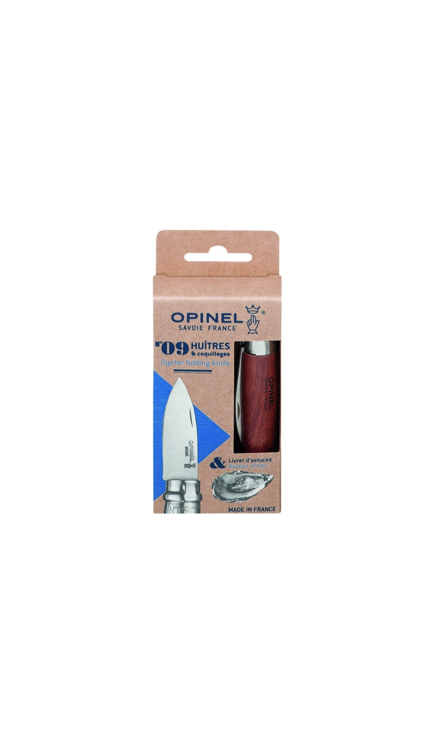 OPINEL N°9 COUTEAU HUITRES & COQUILLAGES NATURE INOX HOOD COUPE DECOUPE CUISINE 3123840016165 HOME COOKING KITCHEN NATURE INOX HOOD COMASOUND KARTEL CSK ONLINE