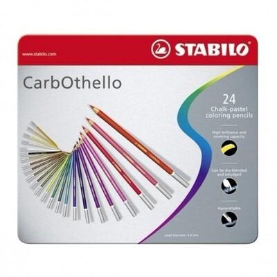 STABILO CARBOTHELLO X 24 CHALK PASTEL PENCILS CRAYON SET COULEUR ART ARTISTE DESSIN DRAW 4006381279628 COMASOUND KARTEL CSK ONLINE