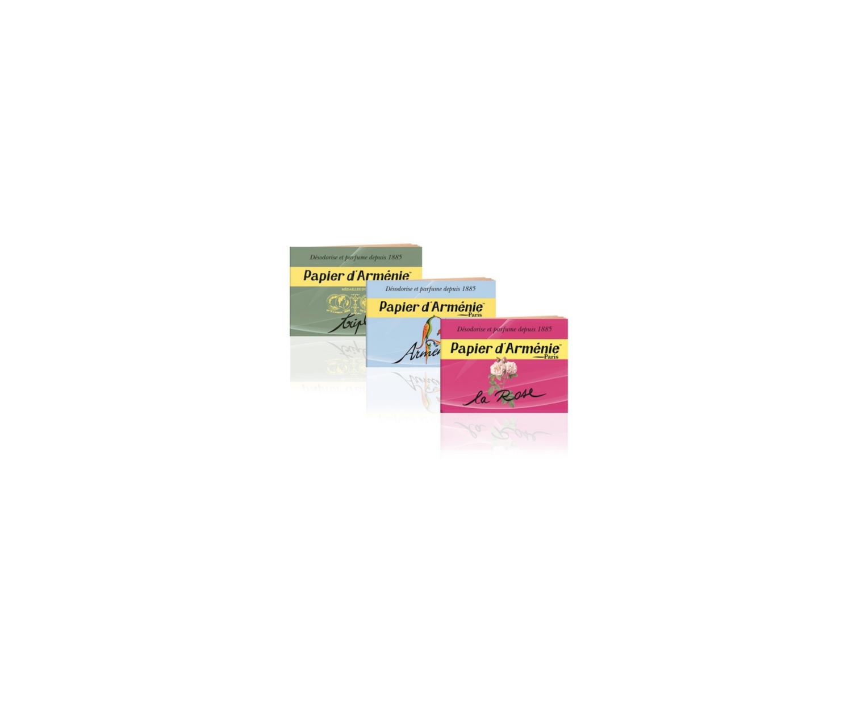 PAPIER D'ARMENIE PARIS X 3 SENTEURS DESODORISE PARFUM ENCENS 3292030000113 , 3401596152529 , 3401546397277 MAISON HOME LOT SET PACK COMASOUND KARTEL CSK ONLINE