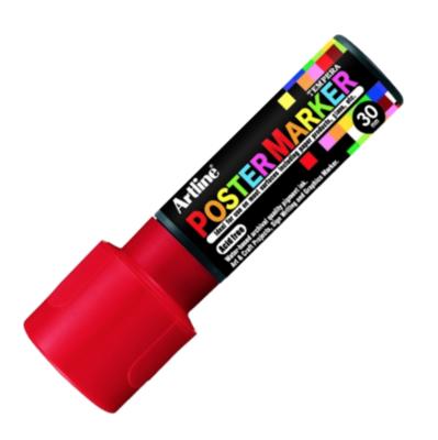 ARTLINE POSTER MARKER TEMPERA 30 RED TORCHE MARKER ART GRAFFITI SKETCH DRAW ARTISTE TAG SHOP PRO 4974052852275 COMASOUND KARTEL CSK ONLINE