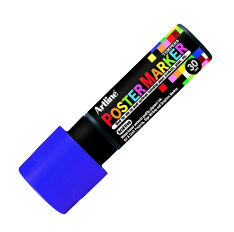 ARTLINE POSTER MARKER TEMPERA 30 PURPLE MARKER ART GRAFFITI SKETCH DRAW ARTISTE TAG SHOP PRO 4974052860768 COMASOUND KARTEL CSK ONLINE