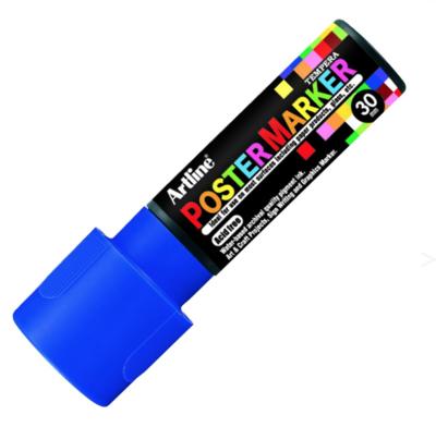 ARTLINE POSTER MARKER TEMPERA 30 BLUE TORCHE MARKER ART GRAFFITI SKETCH DRAW ARTISTE TAG SHOP PRO 4974052852268 COMASOUND KARTEL CSK ONLINE