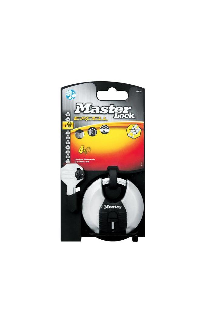 MASTER LOCK EXCELL M40D CADENAS 3520190929679 SECURITY DOOR WAREHOUSE GARDEN PARKING BOX SHOP STORE COMASOUND KARTEL CSK ONLINE