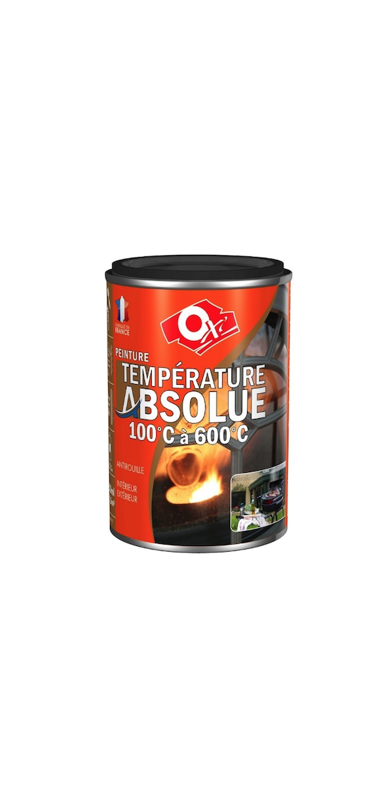 OXI OXYTOL PEINTURE HAUTE TEMPERATURE ABSOLUE 250 ML DIY PAINT BARBECUE CHEMINEE POELE BLANC SATIN  3285820036485 COMASOUND KARTEL CSK ONLINE