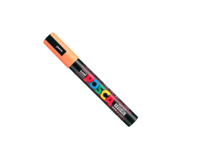 UNI POSCA PC-5M ORANGE MARKER ART GRAFFITI 4902778916223 SKETCH DRAW ARTISTE TAG SHOP PRO COMASOUND KARTEL CSK ONLINE SHOP DECORATION