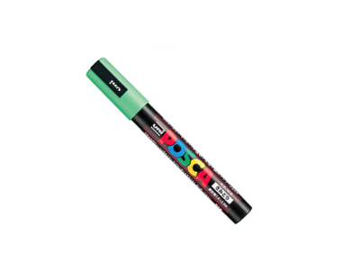 UNI POSCA PC-5M APPLE GREEN MARKER ART GRAFFITI 4902778036853 SKETCH DRAW ARTISTE TAG SHOP PRO COMASOUND KARTEL CSK ONLINE SHOP DECORATION