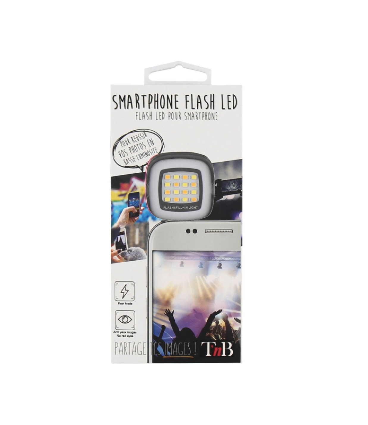 T'NB SMARTPHONE FLASH LED TELEPHONE PHONE LIGHT LUMIERE FLASH  3303170080337 COMASOUND KARTEL CSK ONLINE