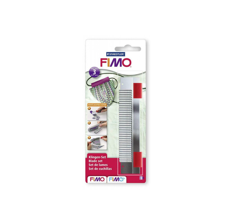 FIMO COUTEAUX CUTTER BLADES STAEDTLER  PATE POLYMERE MODELAGE MODELER CUISINE DECORATION  4006608800307 COMASOUND KARTEL CSK ONLINE