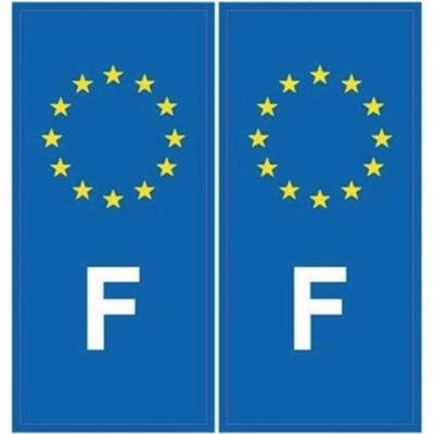 IMDIFA STICKER AUTOCOLLANT FRANCE EUROPE IMMATRICULATION  CONDUCTEUR AUTO CAR TRUCK VAN VOITURE VEHICULE 3284090003388 ADHESIF COMASOUND KARTEL CSK ONLINE
