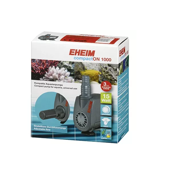 EHEIM COMPACT ON 1000 AQUARIUM POMPE PUMP AQUARIA  POISSON ANIMALERIE EAU 4011708001684 COMASOUND KARTEL CSK ONLINE