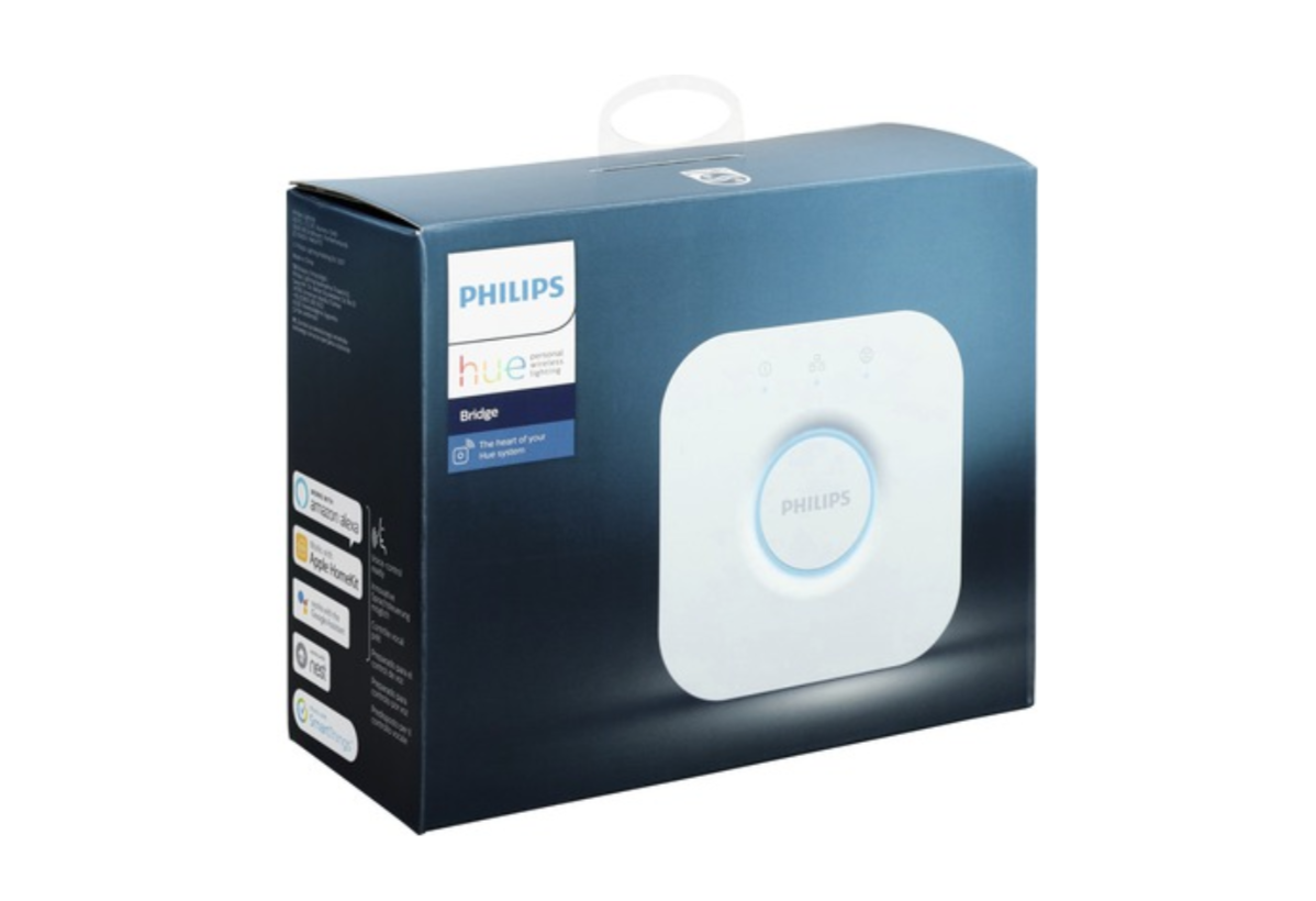 PHILIPS HUE BRIDGE THE HEART CENTRALE TELEPHONE CONNECTE LED LUMINAIRE DOMOTIQUE SECURITE MAISON  8718696511800 COMASOUND KARTEL CSK ONLINE