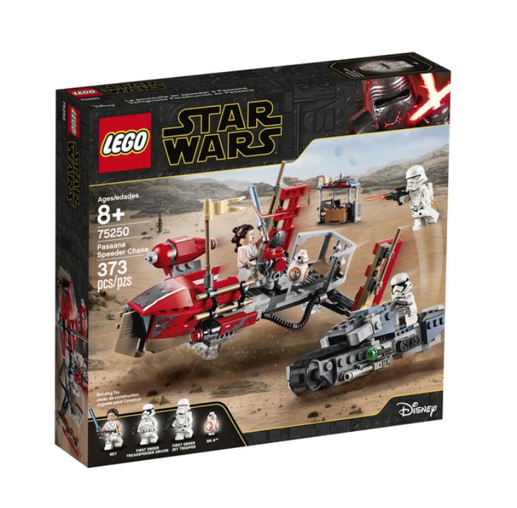 LEGO STAR WARS PASAANA SPEEDER CHASE 75250 JOUET JEU JEUX ITEM 6251746 CONSTRUCTION ENFANT NOEL NEUF 5702016370751 COMASOUND KARTEL
