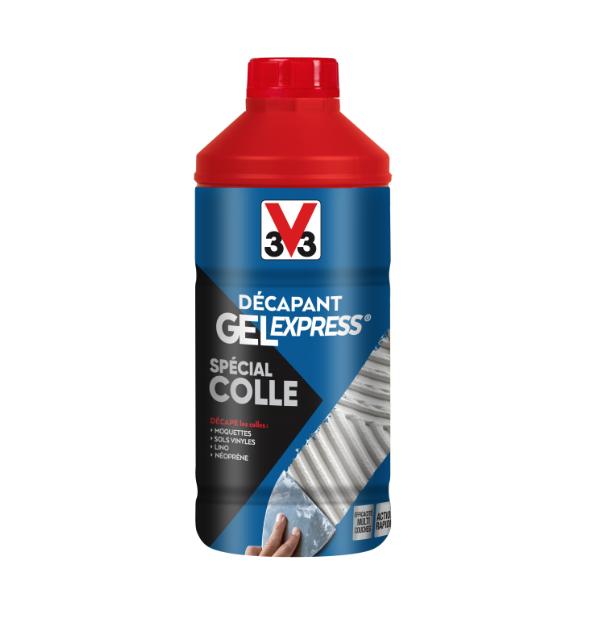V33 DECAPANT GEL EXPRESS SPECIAL COLLE DECAPE MOQUETTES SOLS VINYLES LINO NEOPRENE 3153894922242 DIY PAINT COMASOUND KARTEL CSK ONLINE