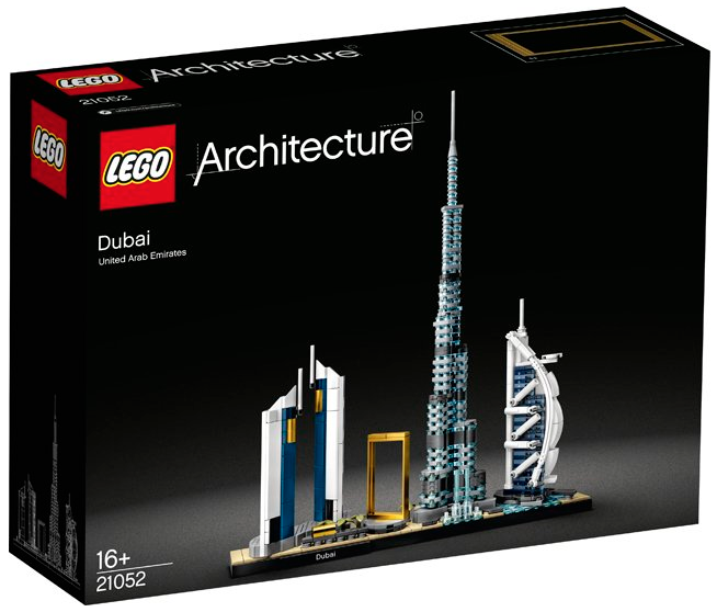 LEGO ARCHITECTURE DUBAI UNITED ARAB EMIRATES UAE 21052 JOUET JEU JEUX ITEM 6288697 CONSTRUCTION ENFANT NOEL NEUF 5702016617344 COMASOUND KARTEL