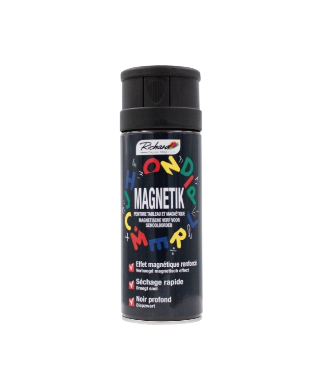 RICHARD PEINTURE MAGNETIQUE TABLEAU3485405520013 PRO 400 ML SPRAY PAINT DECORATION ART BRICOLAGE RENOVATION RENOVER BOMBE COMASOUND KARTEL CSK ONLINE