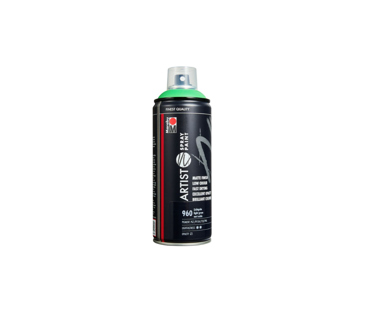 MARABU ARTIST SPRAY PAINT 960 VERT ACIDE INDOOR OUTDOOR 4007751690272 DIY ART BRICOLAGE COMASOUND KARTEL CSK ONLINE