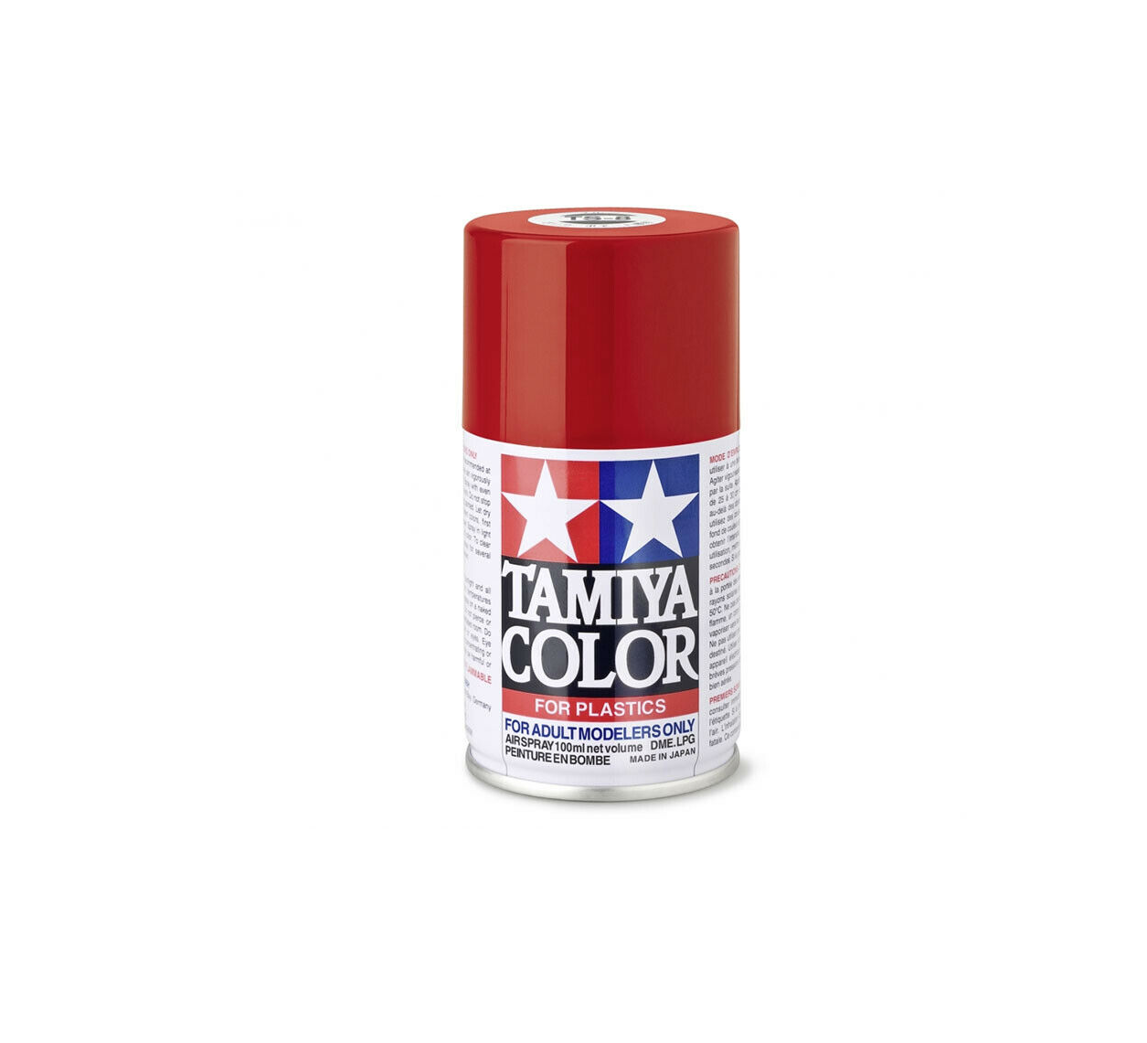 TAMIYA COLOR MODELISME MAQUETTE MINIATURE STATUE PROTECTION CANVAS TOILE 100 ML SPRAY CAN AEROSOL COULEUR ART ARTISTE DESSIN  4950344993505 COMASOUND KARTEL CSK ONLINE TS 8  ITALIAN RED