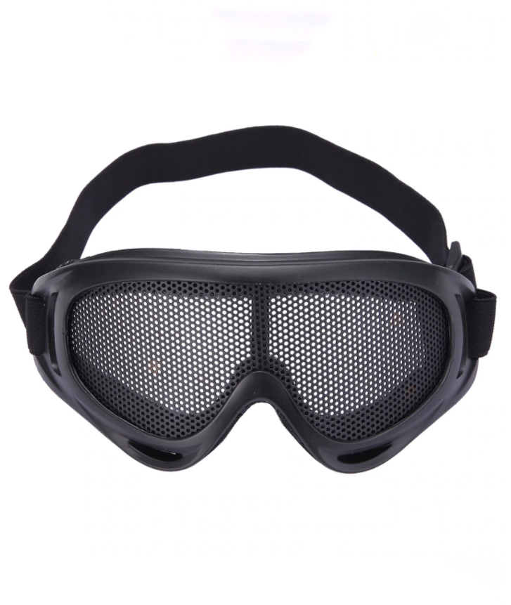 CSK GLASS LUNETTES MASQUE PROTECTION CHOC MANIFESTATION GRILLAGE CROSS  BIKE EXTREME CHASSE VELO QUAD AIRSOFT PAINT BALL GRAFFITI VANDAL MASK POA026640§V8R0 MONTAGNE COMASOUND KARTEL CSK ONLINE  NOIR