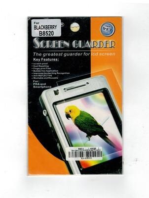 SCREEN GUARDER BLACKBERRY B8520 ECRAN DE PROTECTION CURVE PHONE TELEPHONE BLA§SCP005 COMASOUND KARTEL CSK ONLINE