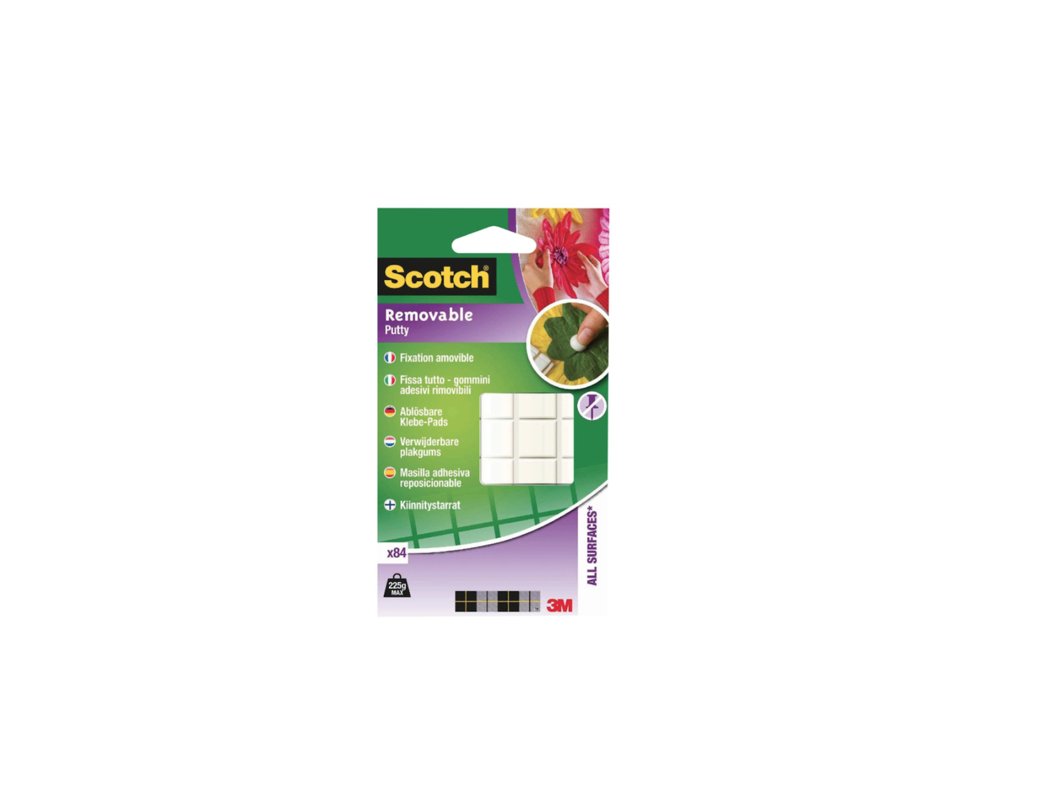 SCOTCH 3M PATE A FIXATION REMOVABLE ADHESIVE PADS DOUBLE FACE ADHESIF DECORATION HOME BRICOLAGE PRO 4046719281589 COMASOUND KARTEL CSK ONLINE