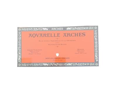 CANSON ARCHES PAPIER AQUARELLE & LA DETREMPE GRAIN TORCHON 15 X 30 CM PEINTURE CRAYON COULEUR ART ARTISTE DESSIN DRAW 3148950045287 COMASOUND KARTEL CSK ONLINE