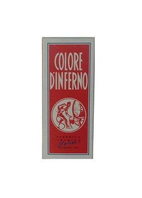 "COLORE D'INFERNO TEINTURE CUIR "" NERO "" ENCRE INK SOINS MARQUEUR MARKER BODY PAINT ART GRAFFITI SKETCH DRAW ARTISTE TAG SHOP PRO 8020393726501 COMASOUND KARTEL CSK ONLINE ROUGE"