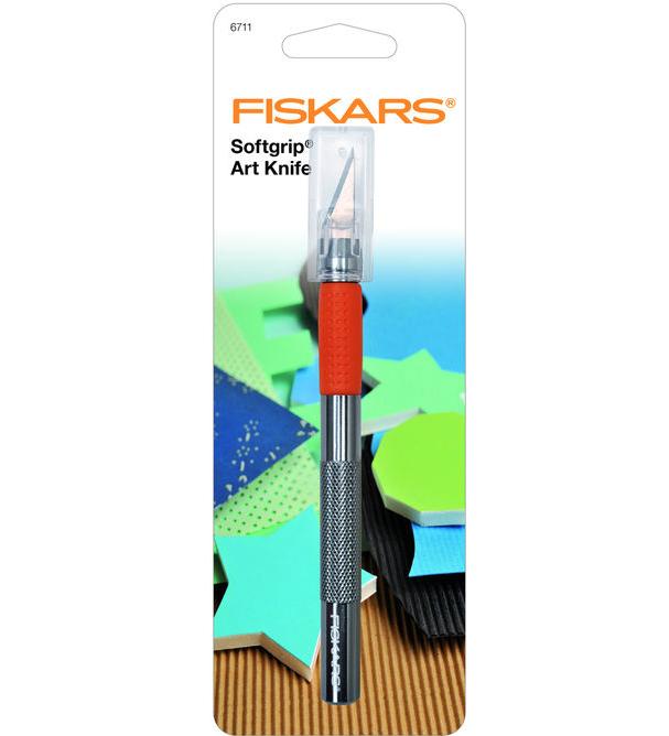 FISKARS ART KNIFE SOFTGRIP LAME POUR CUTTER 0078484167113 COUPE DECOUPE COUTURE LOISIR CREATIF PRO COMASOUND KARTEL CSK ONLINE