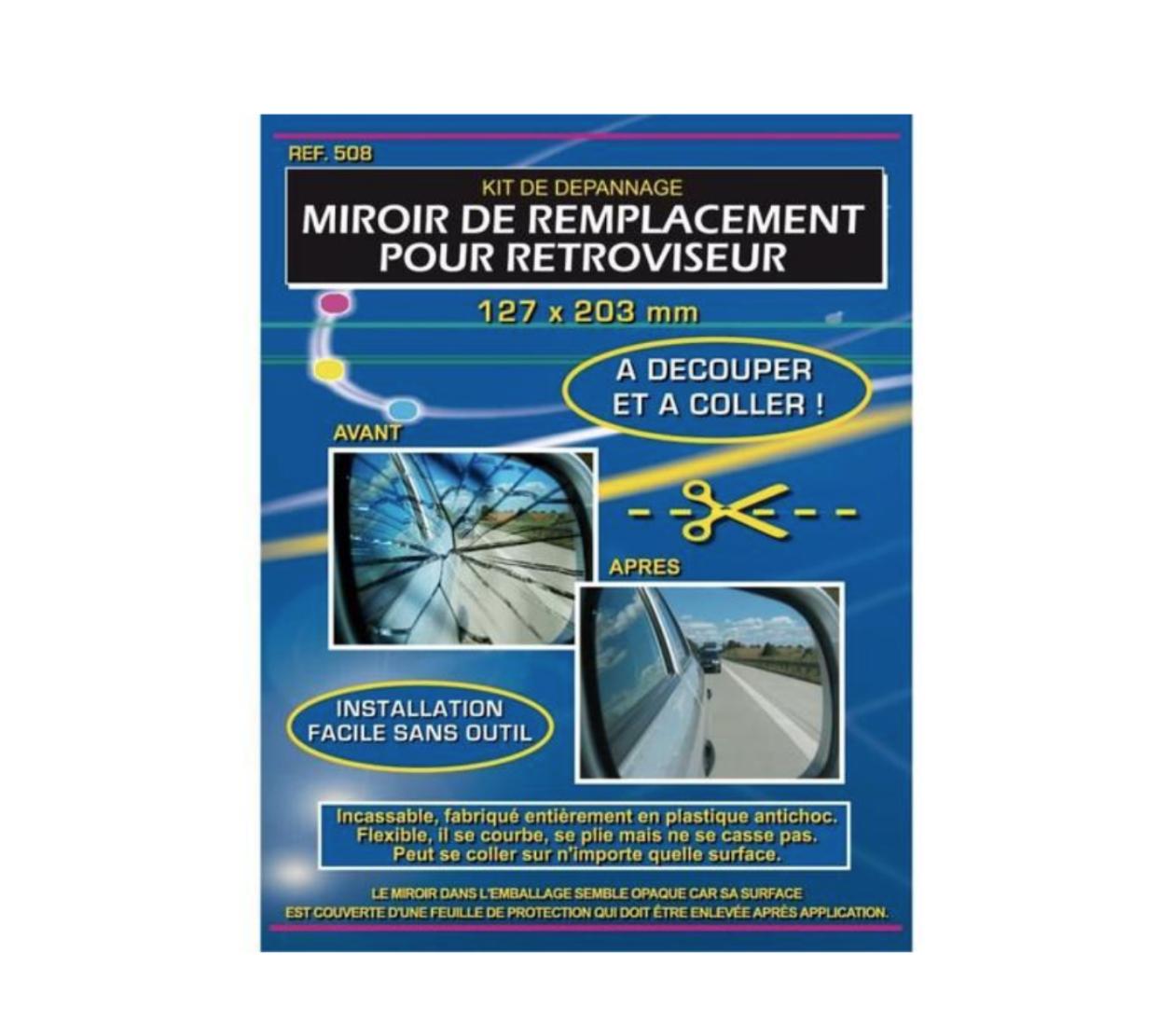 IMDIFA 3M MIROIR REMPLACEMENT RETROVISEUR PROVISOIR KIT DEPANNAGE RENOVER REPARER AUTO BUS CAR VOITURE VAN TAXI CAMION FOURGON CAMIONETTE 3284090005085 COMASOUND KARTEL CSK ONLINE SIGNALITIQUE
