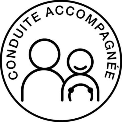 IMDIFA STICKER AUTOCOLLANT CONDUITE ACCOMPAGNEE  APPRENTI JEUNE CONDUCTEUR AUTO TRUCK VAN VOITURE VEHICULE  15 cm ADHESIF 3700536103943 COMASOUND KARTEL CSK ONLINE