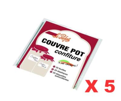 LE PARFAIT COUVRE POT CONFITURE LOT SET PACK PROMO  BOCAL BOCAUX BOITE SARDINE CUISINE HOME COOKING KITCHEN INOX 3700206401294 COMASOUND KARTEL CSK ONLINE