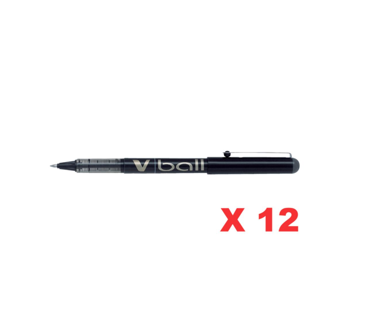 PILOT BL-VB7 BLACK NOIR STYLO PEN V BALL VBALL ROLLER 0.5 ECRITURE SCOLAIRE PRO BUREAU COMMERCE SHOP STORE ART CALLIGRAPHIE 4902505131868 COMASOUND KARTEL CSK