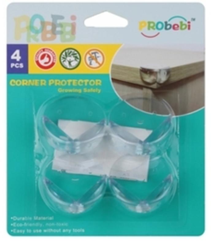 PROBEBI PROTEGE COINS MEUBLE X 4 PCS PROTECTION SECURITE ENFANT CHUTE DANGER 0634154900949 COMASOUND KARTEL CSK ONLINE
