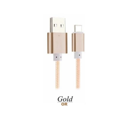 GOLD FOR APPLE IOS LIGHTHING CABLE 1,2M CHARGE SYNC IPOD IPAD IPHONE 1M SECURITE 6341549018090 CAR TRUCK QUAD VEHICULE VAN AUTO VOITURE COMASOUND KARTEL CSK ONLINE