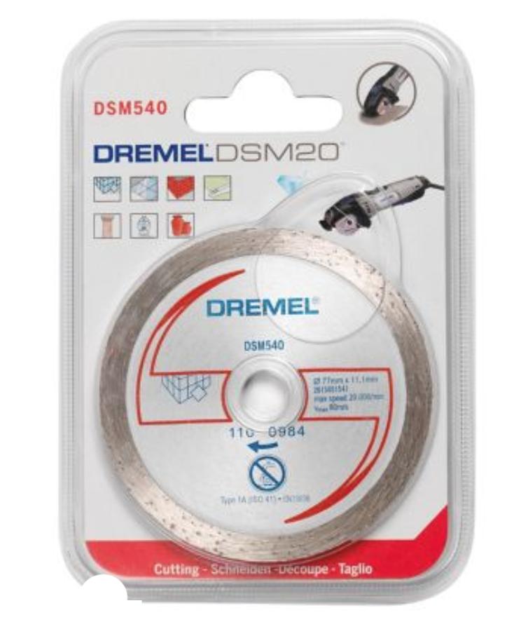 DREMEL DSM540 DSM20 DISQUE TRONCONNER DIAMANTE COUPE DECOUPE OUTILS TRAVAUX BRICOLAGE 8710364060801 COMASOUND KARTEL CSK ONLINE