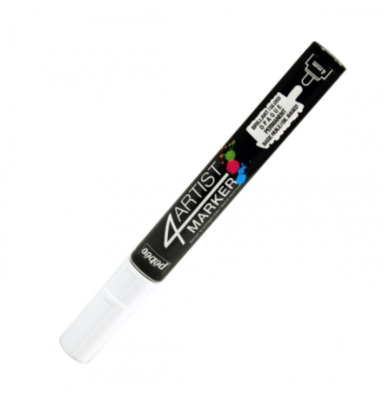 PEBEO 4ARTIST MARKER WHITE 4mm OIL BASED CANVAS TOILE COULEUR ART ARTISTE DESSIN DRAW 3167865801252 COMASOUND KARTEL CSK ONLINE