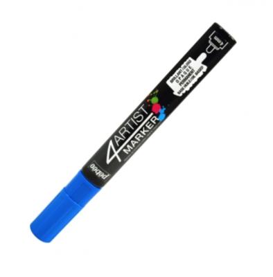 PEBEO 4ARTIST MARKER BLUE 4mm OIL BASED CANVAS TOILE COULEUR ART ARTISTE DESSIN DRAW 3167865801108 COMASOUND KARTEL CSK ONLINE