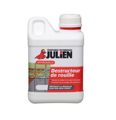 JULIEN AKZO NOBEL DESTRUCTEUR DE ROUILLE  RUST 1 L DIY PAINT PRO BRICOLAGE AUTO MOTO QUAD CAR 3256611060026 COMASOUND KARTEL