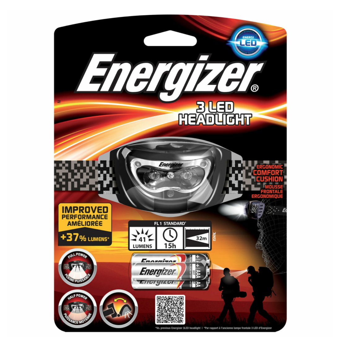 ENERGIZER LAMPE FRONTALE SPELEO ALPINISME PEXHE CHASSE LED LOT SET PACK PRO BRICOLAGE MECANIQUE GRAFFITI SECURITE HOME  PORTABLE SHOP ETUDE 7638900242294 COMASOUND KARTEL CSK ONLINE