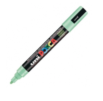UNI POSCA PC-5M LIGHT GREEN MARKER ART GRAFFITI 4902778916216 SKETCH DRAW ARTISTE TAG SHOP PRO COMASOUND KARTEL CSK ONLINE SHOP DECORATION