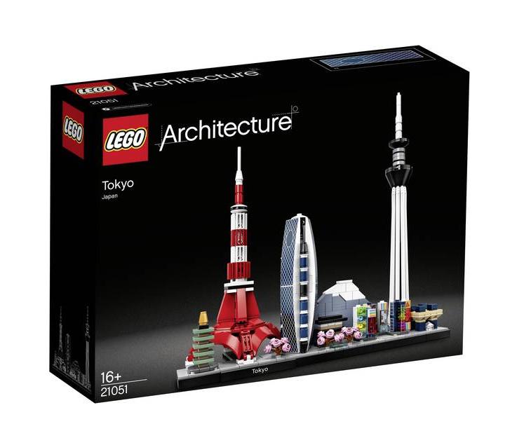 LEGO ARCHITECTURE TOKYO JAPAN JAPON ASIE ASIA  21051 JOUET JEU JEUX ITEM 6288695 CONSTRUCTION ENFANT NOEL NEUF 5702016617337 COMASOUND KARTEL