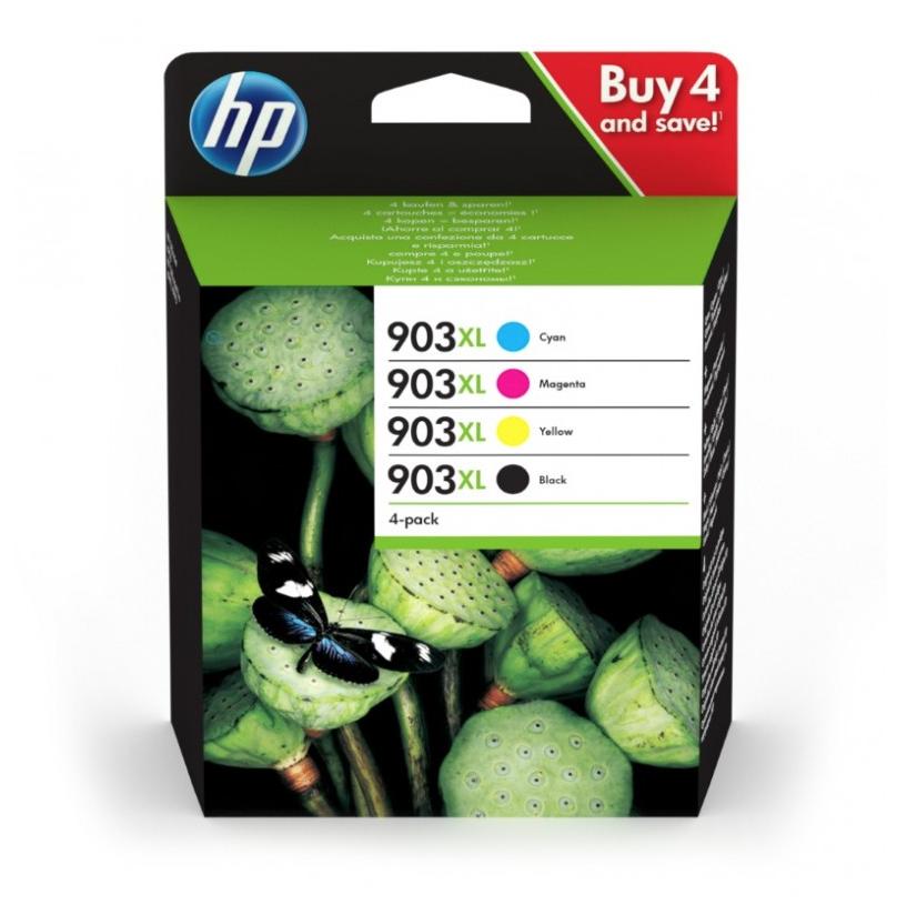 HP CARTOUCHE D'ENCRE ORIGINALE 903 XL PACK SET LOT CYAN MAGENTA YELLOW BLACK NEUF 0192018958395 COMASOUND KARTEL CSK ONLINE