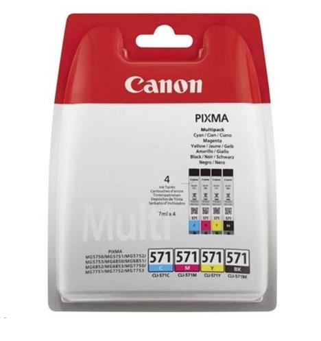CANON PIXMA 571 CARTOUCHE ENCRE MULTIPACK 8714574631820 CYAN MAGENTA YELLOW BLACK  COMASOUND KARTEL CSK ONLINE