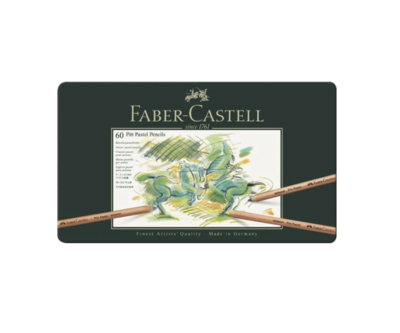 FABER CASTELL 60 PITT PASTEL PENCILS CRAYON COULEUR ART ARTISTE DESSIN DRAW 4005401121602 COMASOUND KARTEL