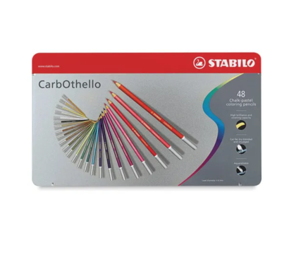 STABILO CARBOTHELLO X 48 CHALK PASTEL PENCILS CRAYON SET COULEUR ART ARTISTE DESSIN DRAW 4006381279642 COMASOUND KARTEL CSK ONLINE