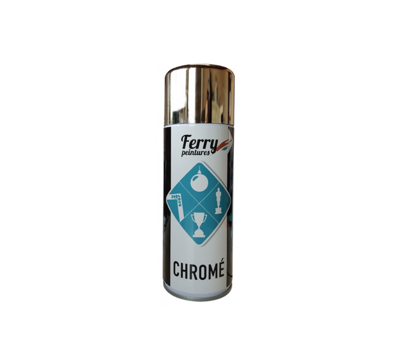 FERRY PEINTURES AEROSOL CHROME OR / GOLD 400 ML 3662173940636 AEROSOL SPRAY CANS  PAINT COMASOUND KARTEL CSK ONLINE