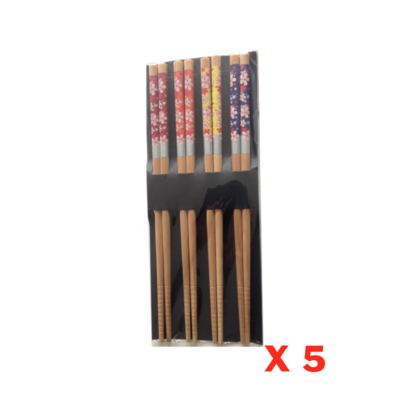 BAGUETTE CHINOISE BAMBOU REPAS LOT SET PACK FLOWER COUVERT CUISINE HOME COOKING KITCHEN INOX 0634154901298 COMASOUND KARTEL CSK ONLINE