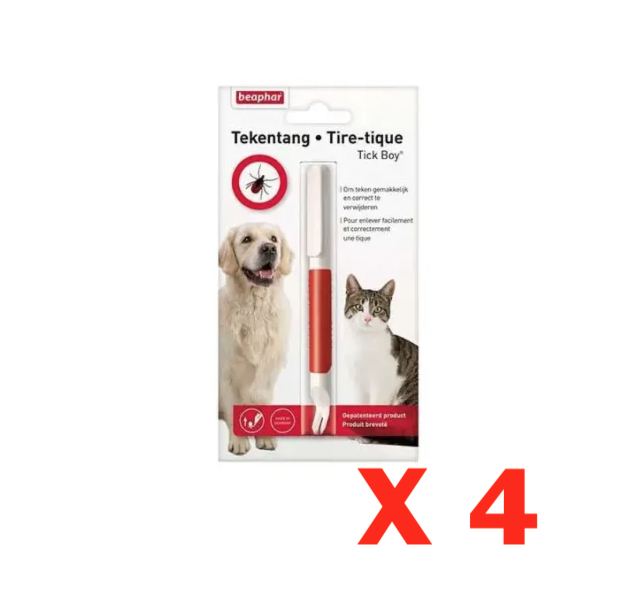 BEAPHAR TIRE TIQUES CHIEN CHAT  ANIMAL PROTECTION SOINS ANIMAUX PET CAT VETERINAIRE 8711231118465 COMASOUND KARTEL CSK ONLINE