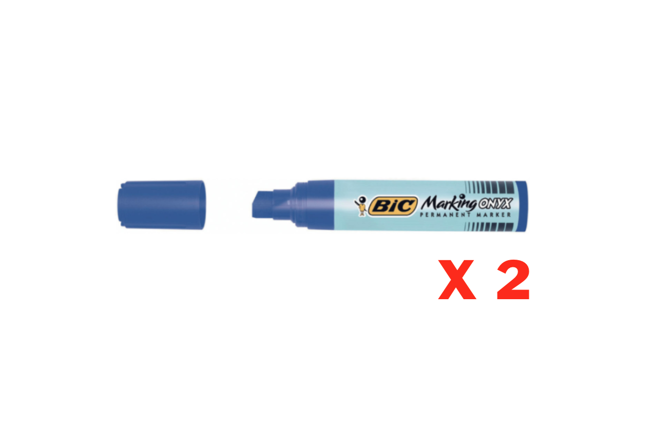 BIC PERMANENT MARKER ONYX MARKING GRAFFITI TAG PRO  BLUE BUREAU COMMERCE SHOP STORE ART DESSIN DRAW 3086126633299 COMASOUND KARTEL CSK ONLINE