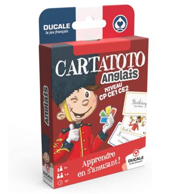 DUCALE CARTATOTO ANGLAIS JEUX 3114520065214 JEU EDUCATIF JOUET CARTE FAMILLE ENFANT DIVERTISSEMENT SOIREE COMASOUND KARTEL CSK ONLINE